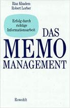 Khadem / Lorber, Das MEMO Management