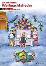 Die schönsten Weihnachtlieder für Klavier
