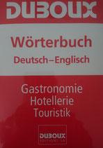 Duboux Wörterbuch Deutsch-Englisch
