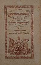 Huggenberger Alfred, Daniel Pfund