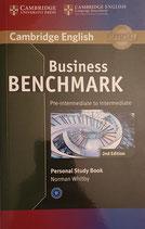 Business Benchmark Pre-Intermediate Personal Study Book