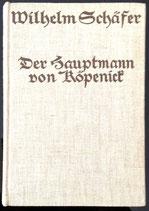 Schäfer Wilhelm, Der Hauptmann von Köpenick