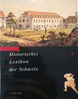 Historisches Lexikon der Schweiz Band 1