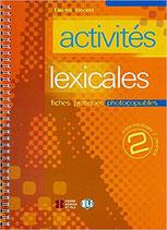 activités lexicales