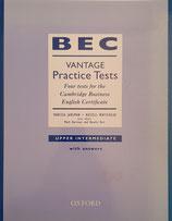 BEC Vantage Practice Tests