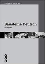 Bausteine Deutsch Lösungsheft