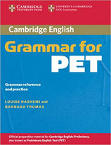 Grammar for PET