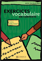 Exercices de vocabulaire en contexte