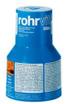 Rohrvit blau Abflussreiniger Granulat extra-stark 100 g