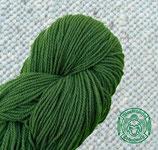 Naturgefärbtes Strickgarn grün (115)