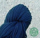 Naturgefärbtes Strickgarn Blau (116)