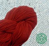 Naturgefärbtes Strickgarn hellrot (112)
