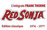 "Red Sonja ""L'intégrale Frank Thorne "" Classique Tome 1"