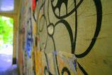 Street Art auf Aludibond
