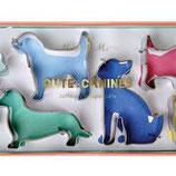 Ausstecher Set Hunde (6-er Set)