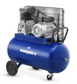 Compresseur professionnel entrainement par courroie 90 litres, 10 bar, 320L/min (230V) mono