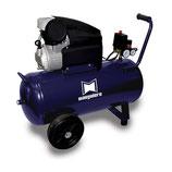 Compresseur professionnel entrainement par courroie 27 litres, 10 bar, 255L/min (230V) mono