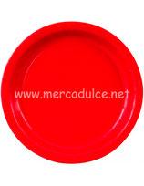 Plato Rojo 18 cm