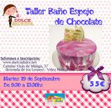 Curso Baño Espejo de Chocolate