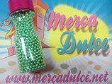 Perla metalizada verde 4mm MD