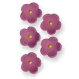 Flores de azúcar lilas PME