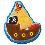 Molde Bizcocho Barco Pirata Wilton