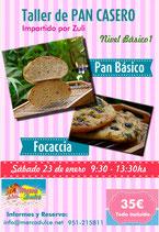 Curso de Pan Casero Nivel 1
