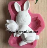 Molde silicona conejo 3D