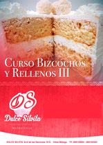 Curso Bizcochos y Rellenos III