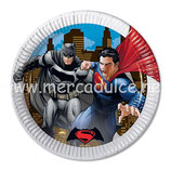 Plato Batman Superman 23 cm