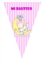Banderín Bautizo niña 01