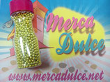 Perla metalizada oro 4mm MD