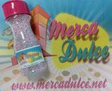 Perlas nonpareils rosa y gris MD
