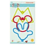 Set de Cortantes Grandes de Mickey
