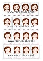 Impresión para Chocolatina niña Comunión 01