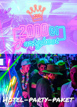 Hotel-Party-Paket 90/2000er Partyboot