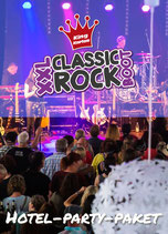 Hotel-Party-Paket Classic-Rock Boot XXL 2. Juli 2022