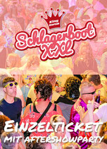 Special-Schlagerboot mit Aftershowparty mit Papi´s Pumpels 03.06.2022