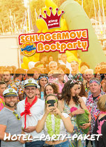 Hotel-Party-Paket Schlagermove Bootparty 11.06.2022