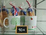 Mug ARGC avec ballotin de 4 navettes + bonbons Marseillotes