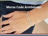Morse Code Armband-Fertigung