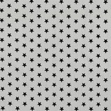"""Baumwollstoff """"weiß schwarz Sterne"""""""