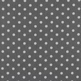 """Baumwolle """"große Punkte grau-weiß"""""""