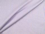 """Baumwolle """"Streifen lila-weiß"""""""