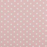 """Baumwollstoff """"rosa Punkte"""""""