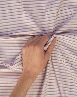 Jerseystoff Streifen rosa