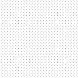 """Baumwolle """"Punkte weiß-grau"""""""