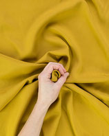 Bekleidungsstoff Viskos 334 gelb Jeansoptik Uni