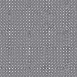 """Baumwolle """"Punkte grau-weiß"""""""