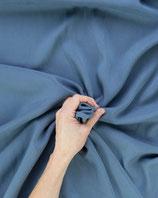 Bekleidungsstoff 334 Viskose hellblau Jeansoptik Uni
